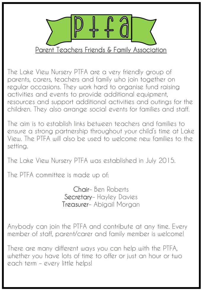 PTFA PAGE