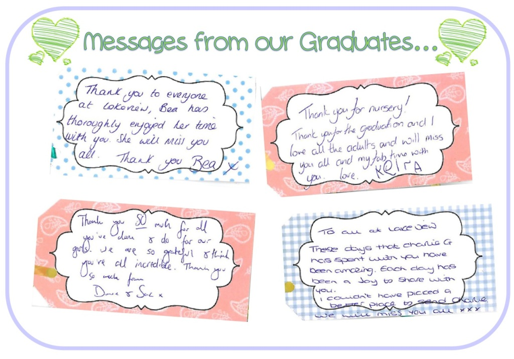 messages from graduates